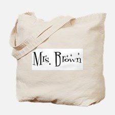 Mrs. Brown  Tote Bag