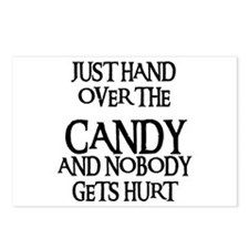 HAND OVER THE CANDY Postcards (Package of 8)