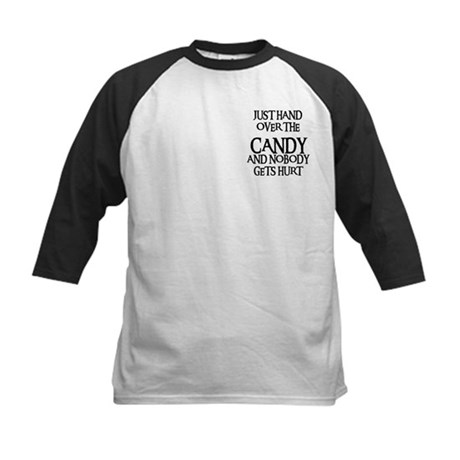HAND OVER THE CANDY Kids Baseball Jersey