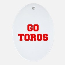 TOROS-Fre red Ornament (Oval)