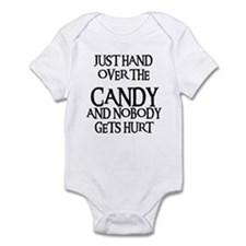 HAND OVER THE CANDY Infant Bodysuit