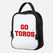 TOROS-Fre red Neoprene Lunch Bag