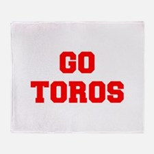 TOROS-Fre red Throw Blanket