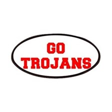 TROJANS-Fre red Patch