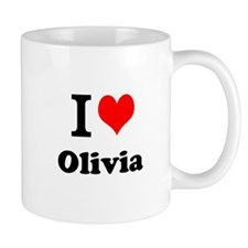 I Love Olivia Mugs