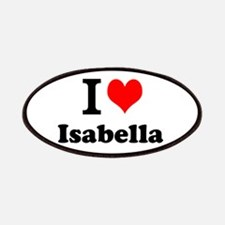 I Love Isabella Patch