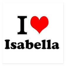 I Love Isabella Invitations