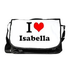I Love Isabella Messenger Bag