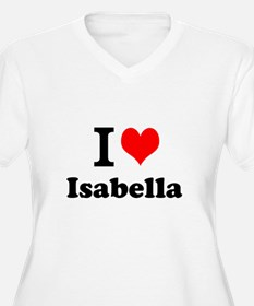 I Love Isabella Plus Size T-Shirt