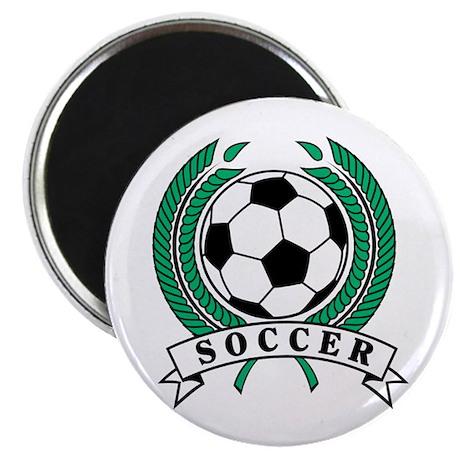 "Classic Soccer Emblem 2.25"" Magnet (10 pack)"