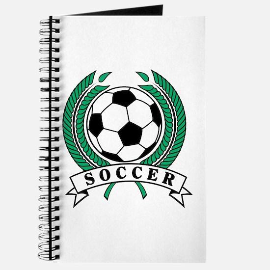 Classic Soccer Emblem Journal