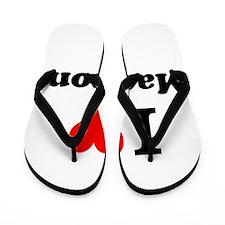 I Love Madison Flip Flops
