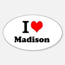 I Love Madison Decal