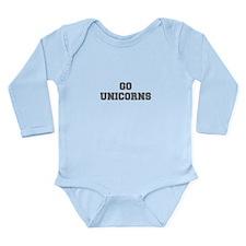 UNICORNS-Fre gray Body Suit