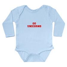 UNICORNS-Fre red Body Suit