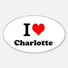 I Love Charlotte Decal