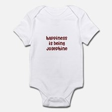 happiness is being Josephine Infant Bodysuit