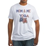 Mom & Me Yoga Fitted T-Shirt