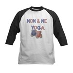 Mom & Me Yoga Kids Baseball Jersey