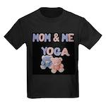 Mom & Me Yoga Kids Dark T-Shirt