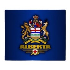 Alberta Coa Throw Blanket