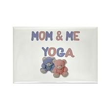 Mom & Me Yoga Rectangle Magnet