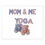 Mom & Me Yoga Small Poster
