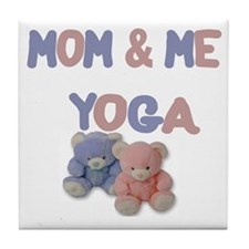 Mom & Me Yoga Tile Coaster