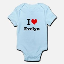 I Love Evelyn Body Suit
