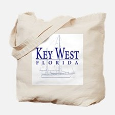 Key West Sailboat - Tote or Beach Bag