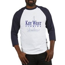 Key West Sailboat - Baseball Jersey