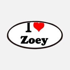 I Love Zoey Patch