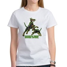Manchester Terrier Zombie Patrol Tee