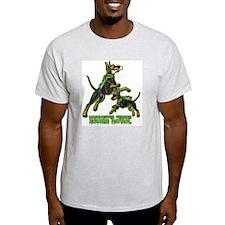 Manchester Terrier Zombie Patrol T-Shirt