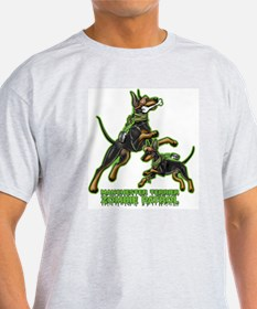 Manchester Terrier Zombie Patrol T-Shirt