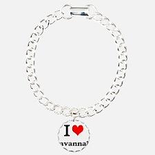 I Love Savannah Bracelet