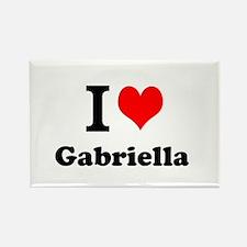 I Love Gabriella Magnets