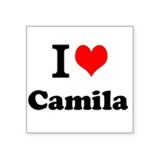 I Love Camila Sticker