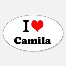 I Love Camila Decal