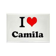 I Love Camila Magnets