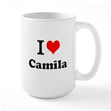 I Love Camila Mugs
