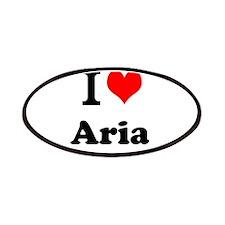 I Love Aria Patch