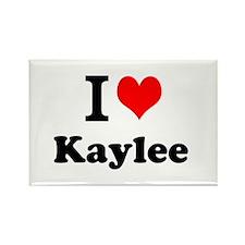 I Love Kaylee Magnets