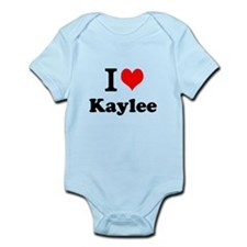 I Love Kaylee Body Suit