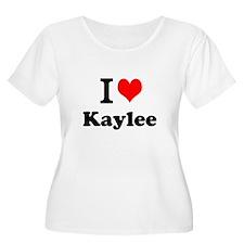 I Love Kaylee Plus Size T-Shirt