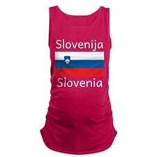 Slovenia Maternity Tank Top