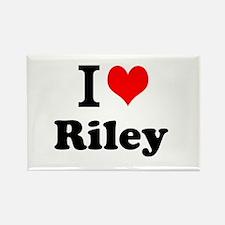 I Love Riley Magnets