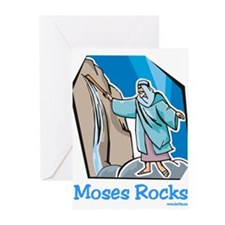 Moses Rocks Greeting Cards (Pk of 10)