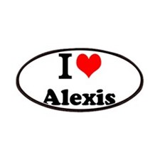 I Love Alexis Patch