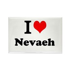 I Love Nevaeh Magnets